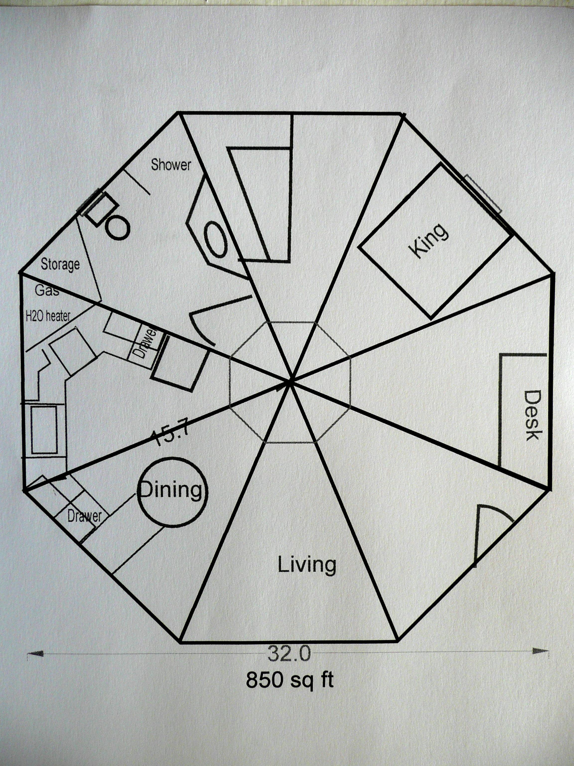 Octagon Building Plans Images
